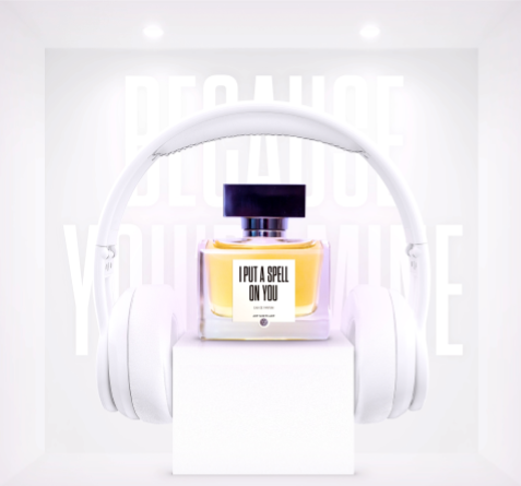 combination of pop songs and perfumes