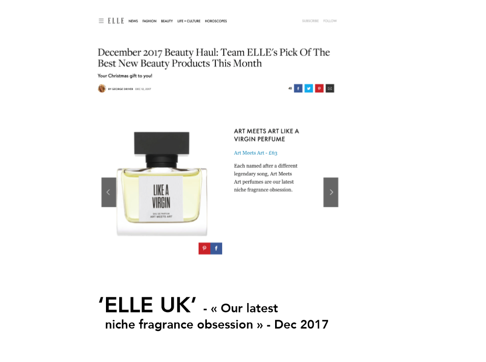 Our latest niche fragrance obsession